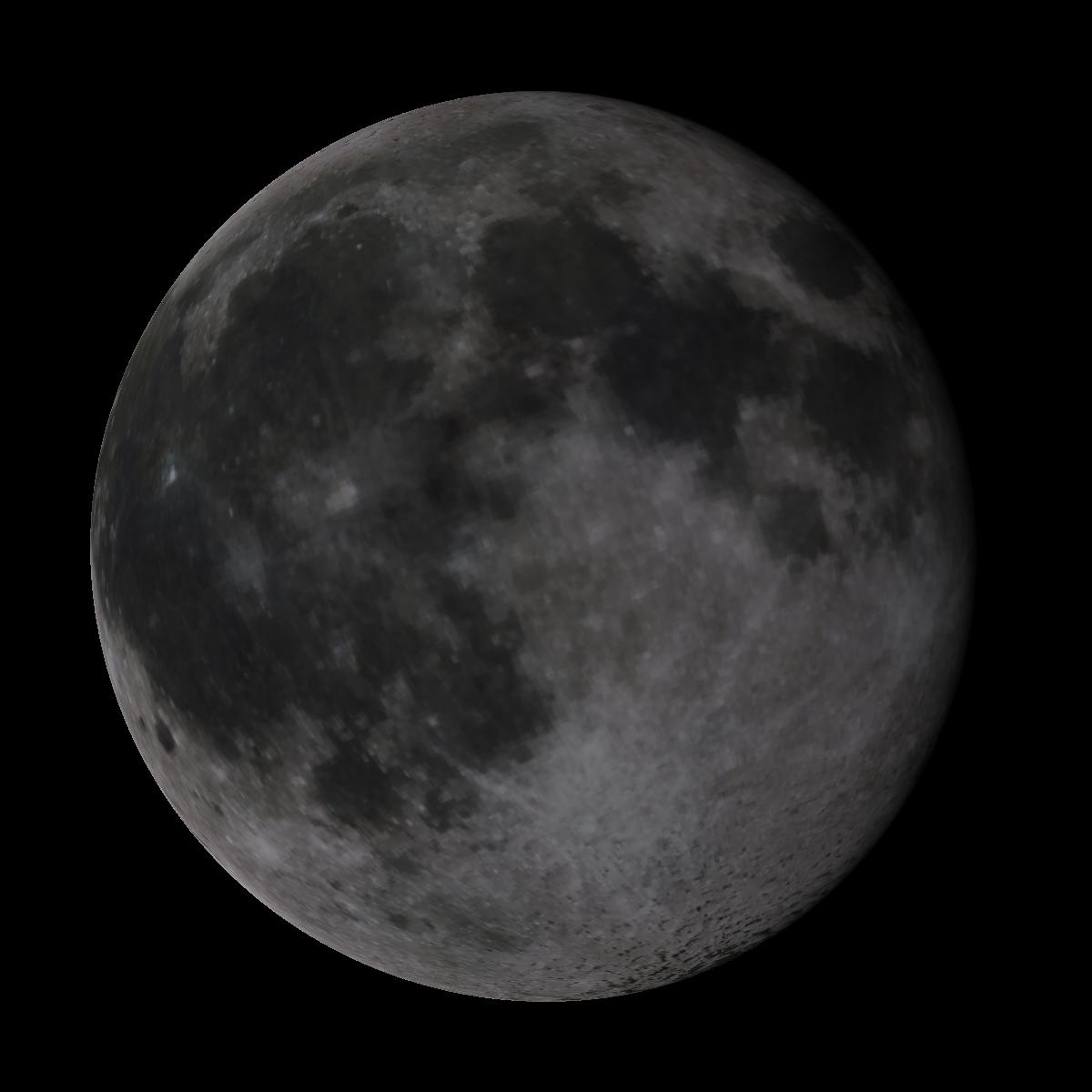 Lune du 11 mars 2020