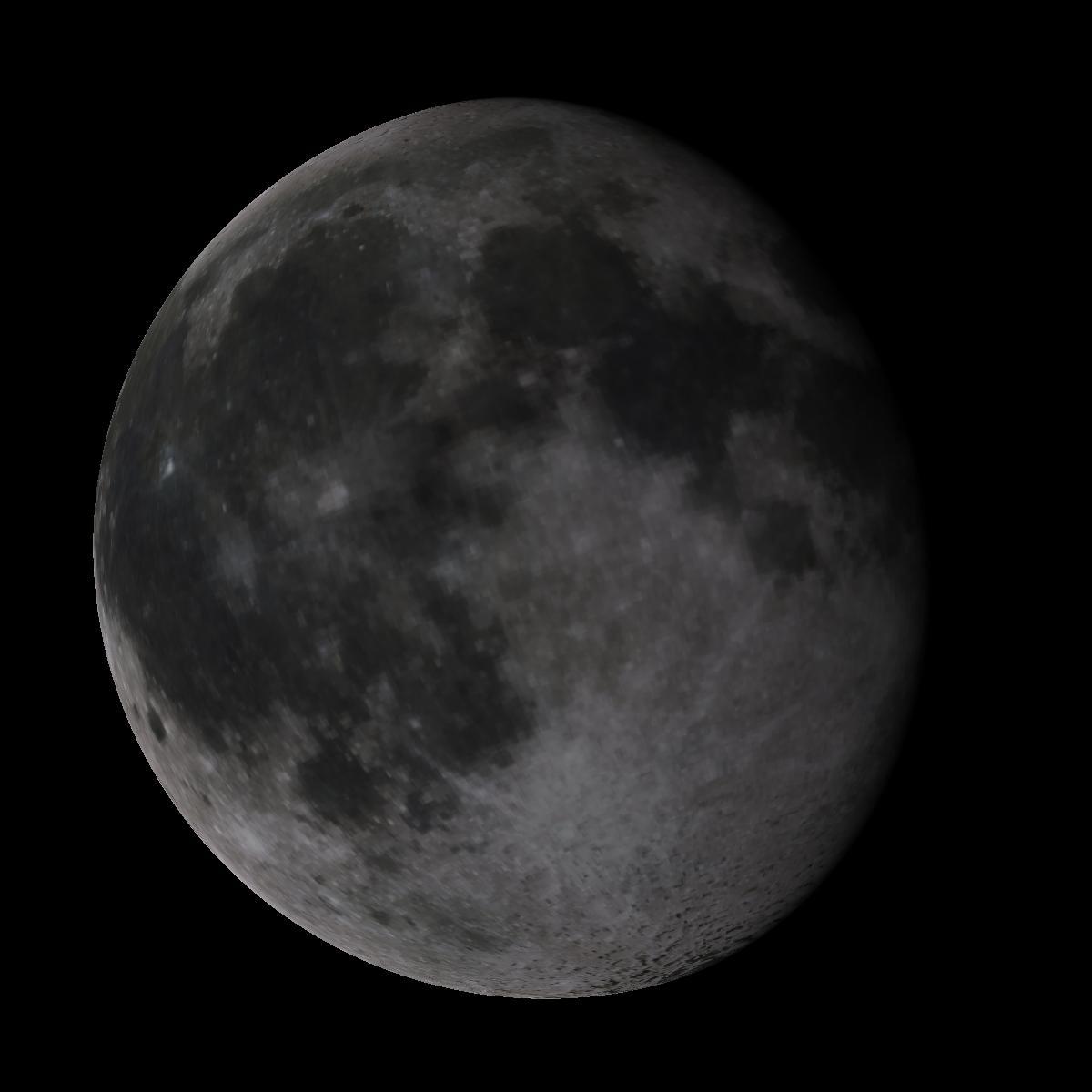 Lune du 12 mars 2020