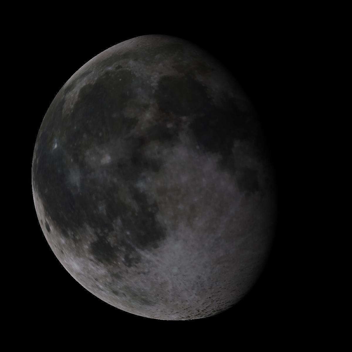 Lune du 13 mars 2020