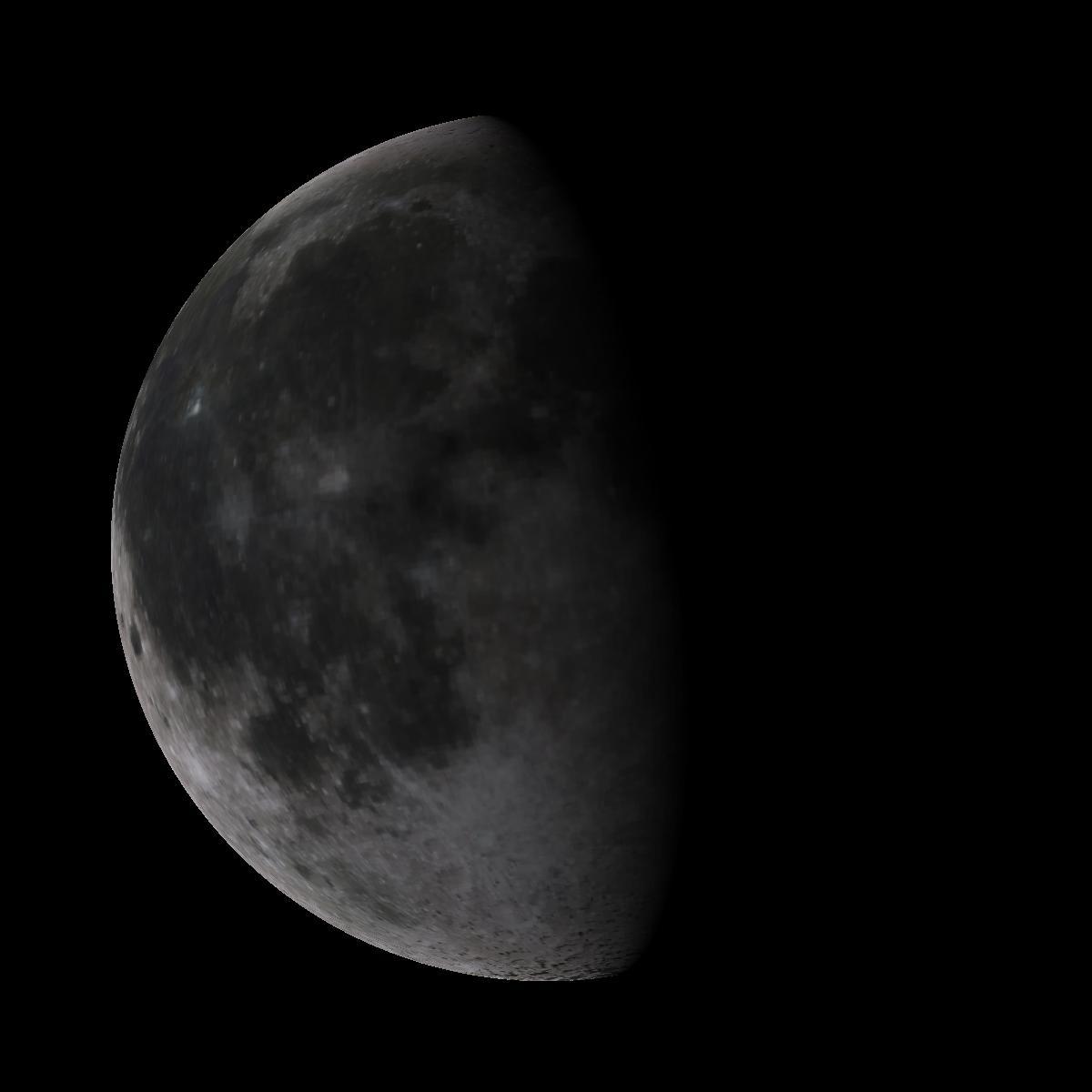 Lune du 15 mars 2020