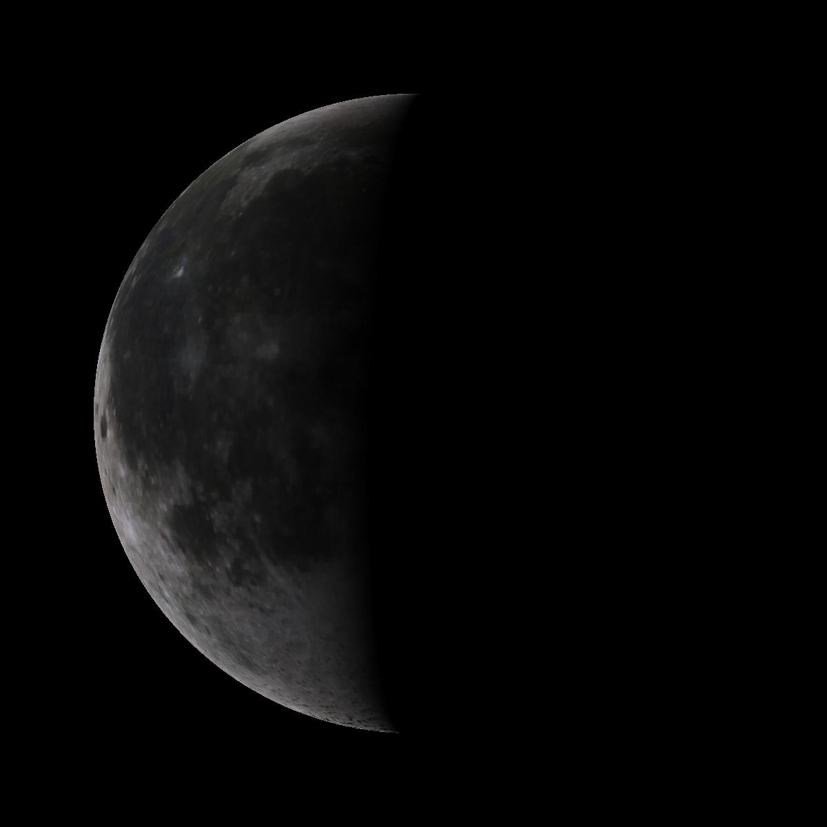 Lune du 17 mars 2020