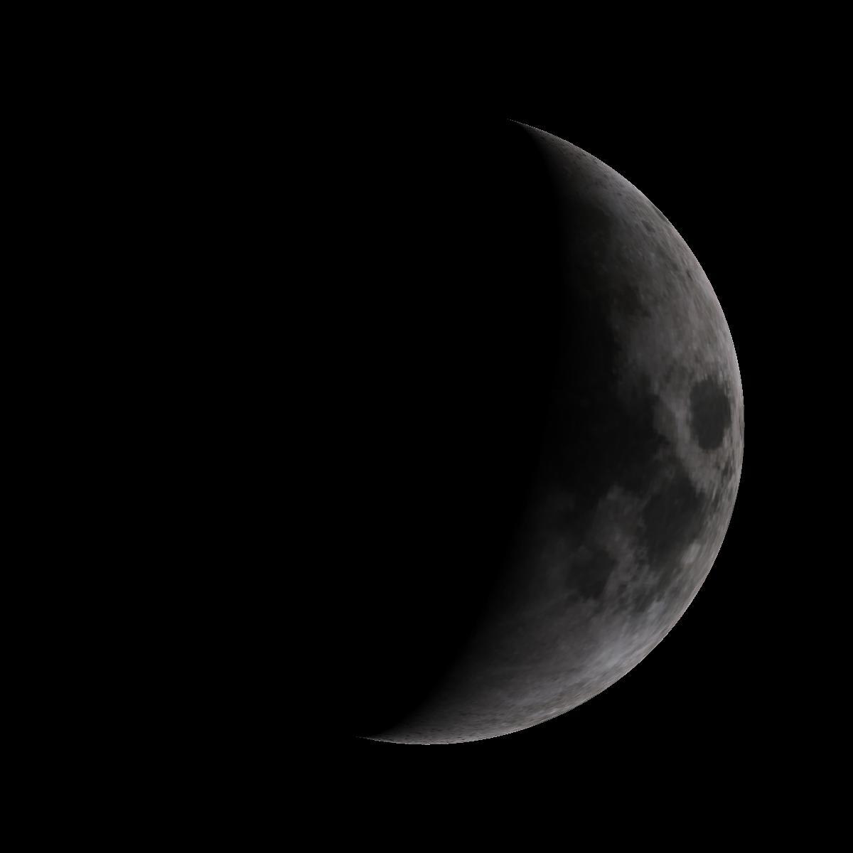 Lune du 1er mars 2020