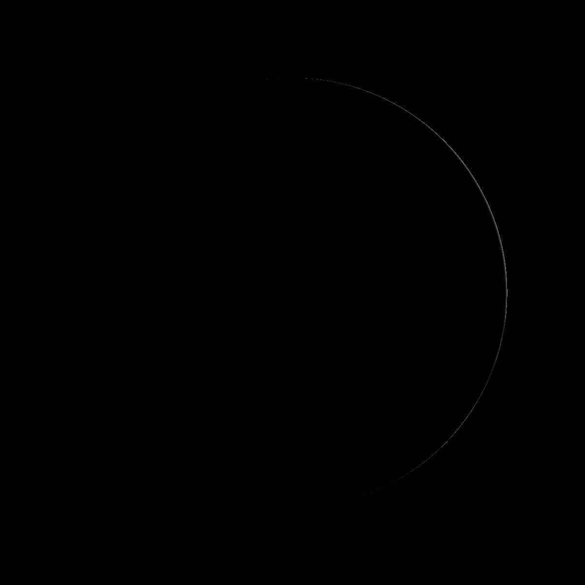 Lune du 25 mars 2020