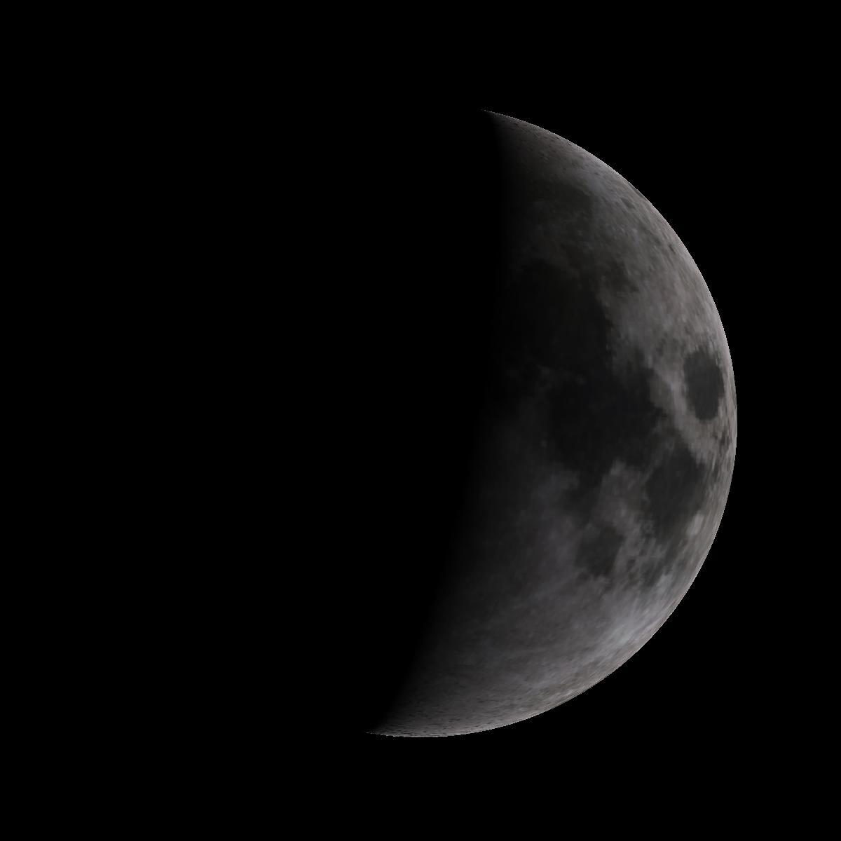 Lune du 2 mars 2020