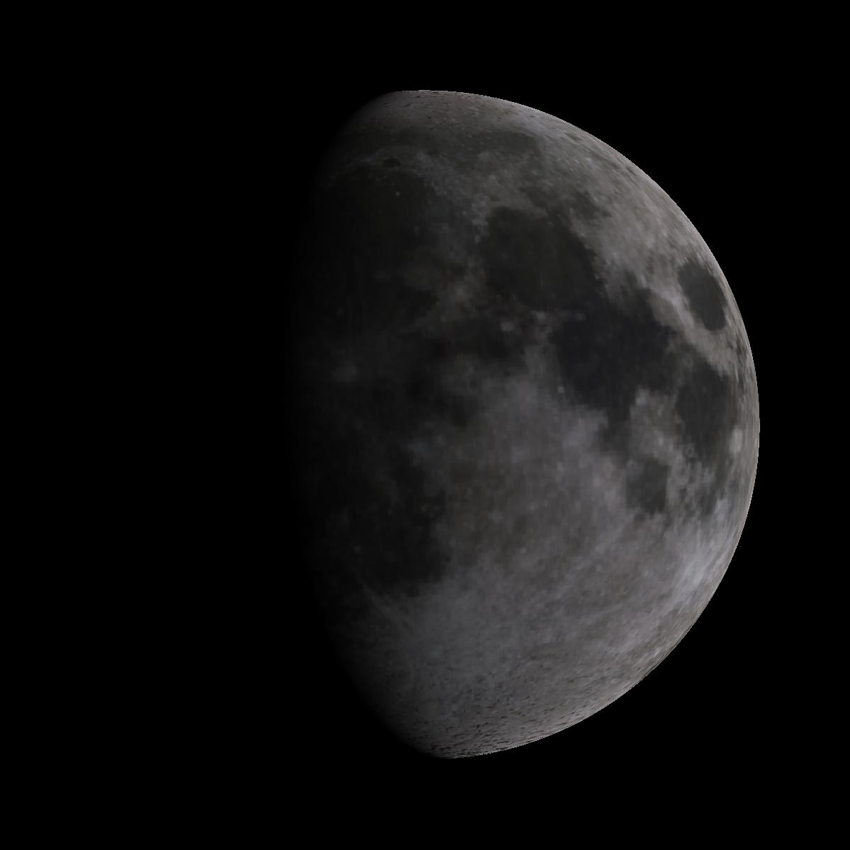 Lune du 5 mars 2020