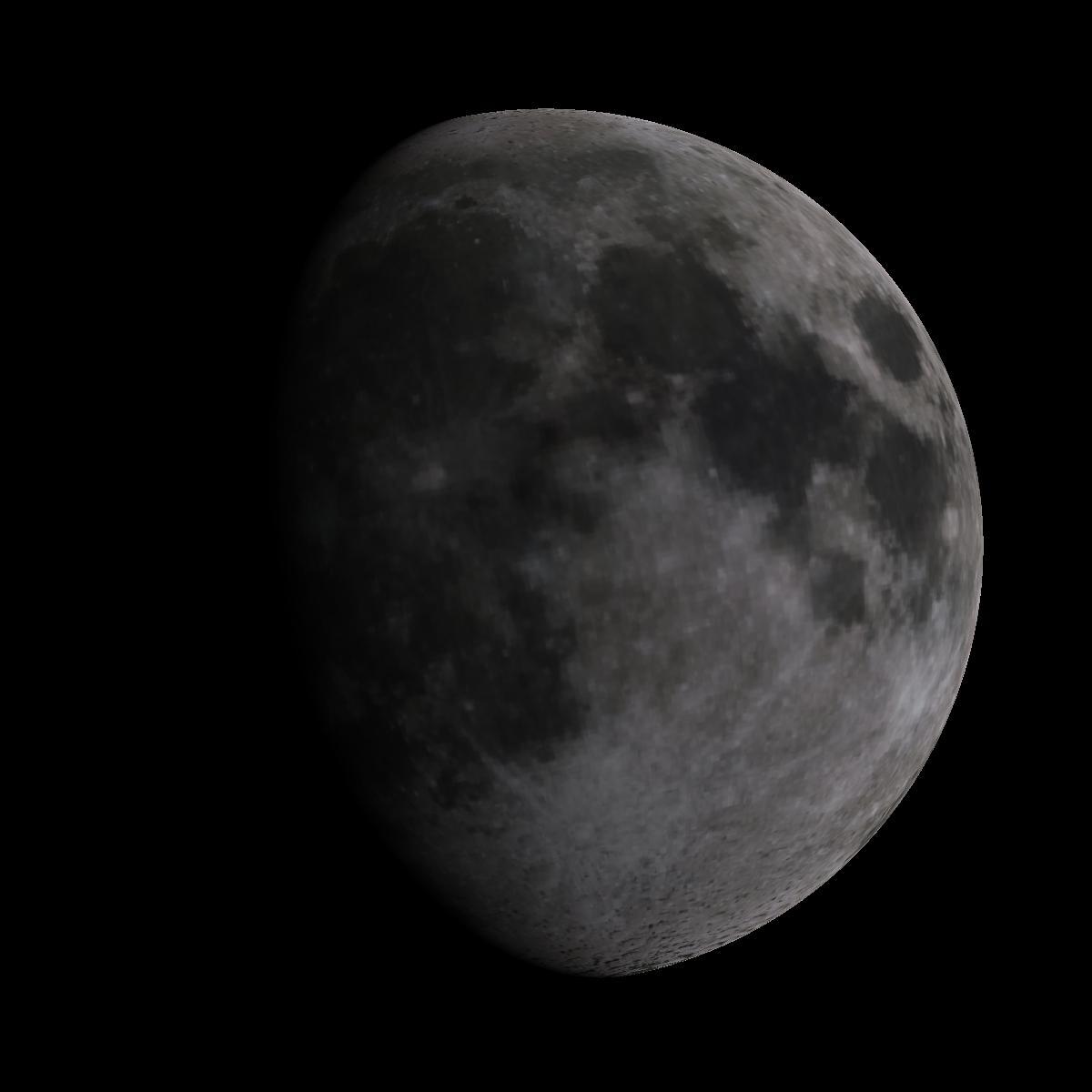 Lune du 6 mars 2020