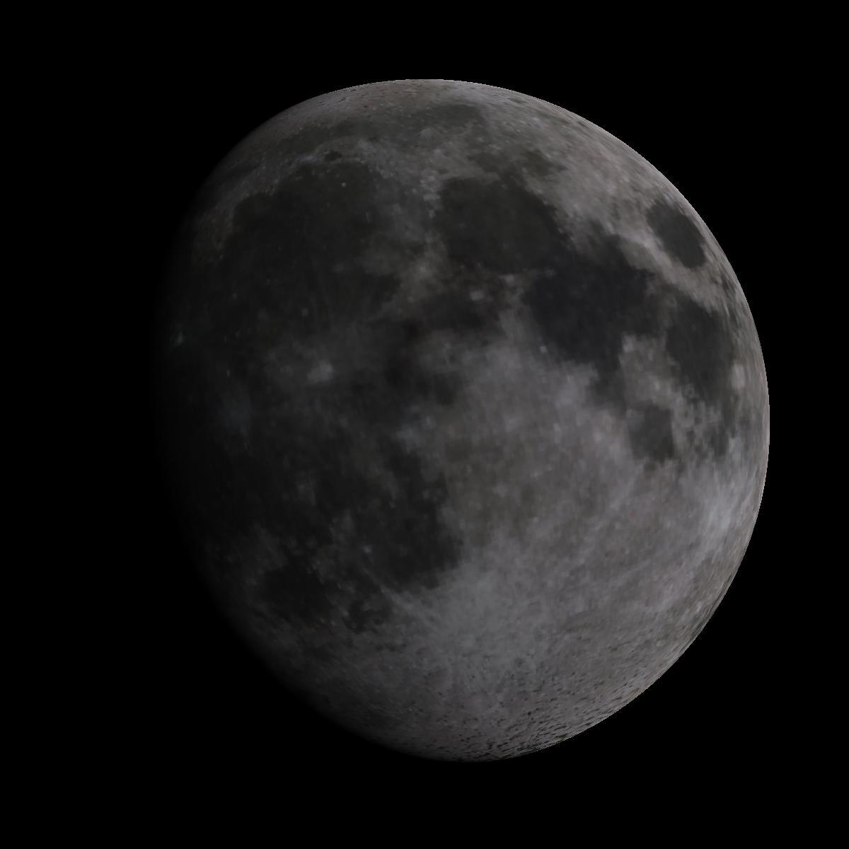 Lune du 7 mars 2020