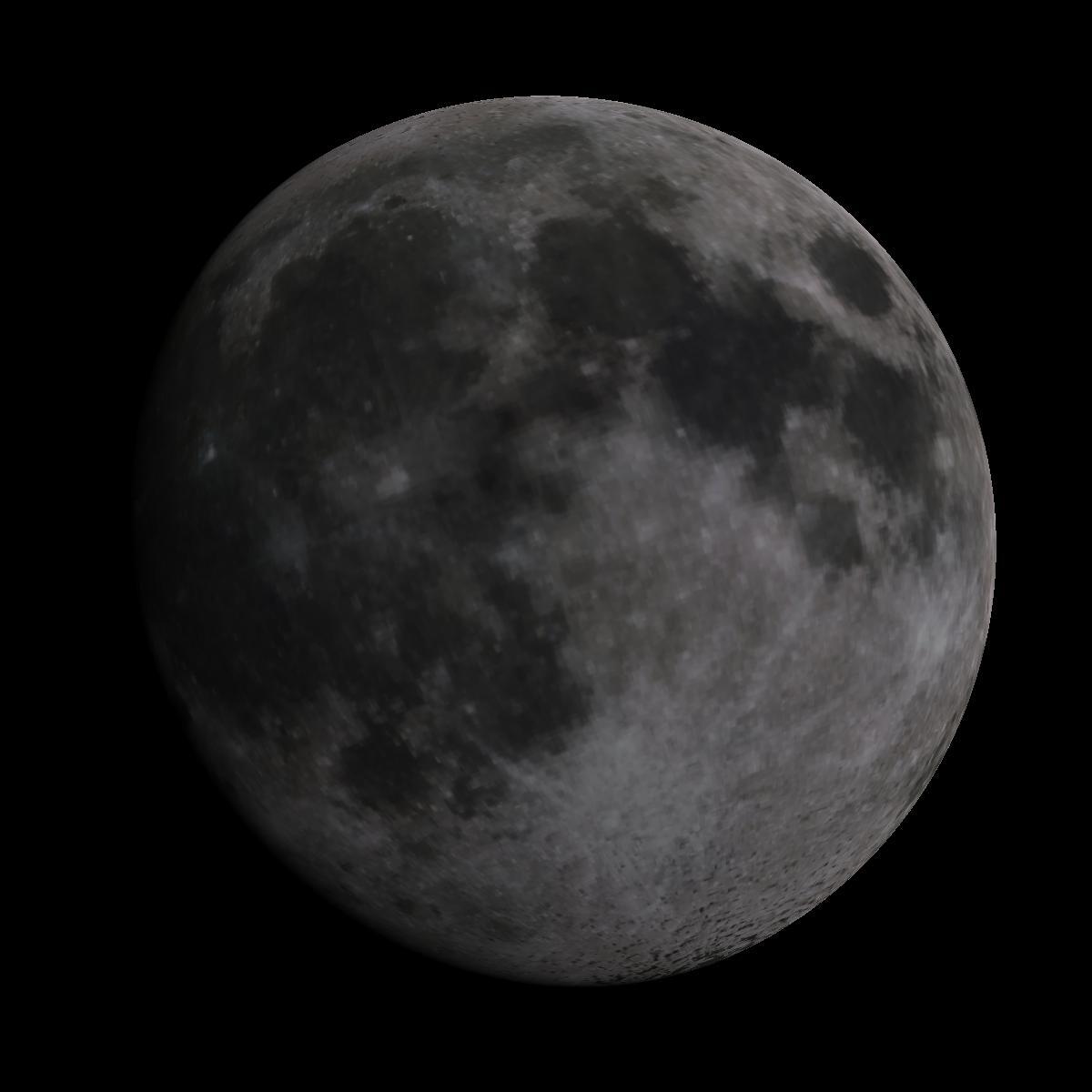 Lune du 8 mars 2020