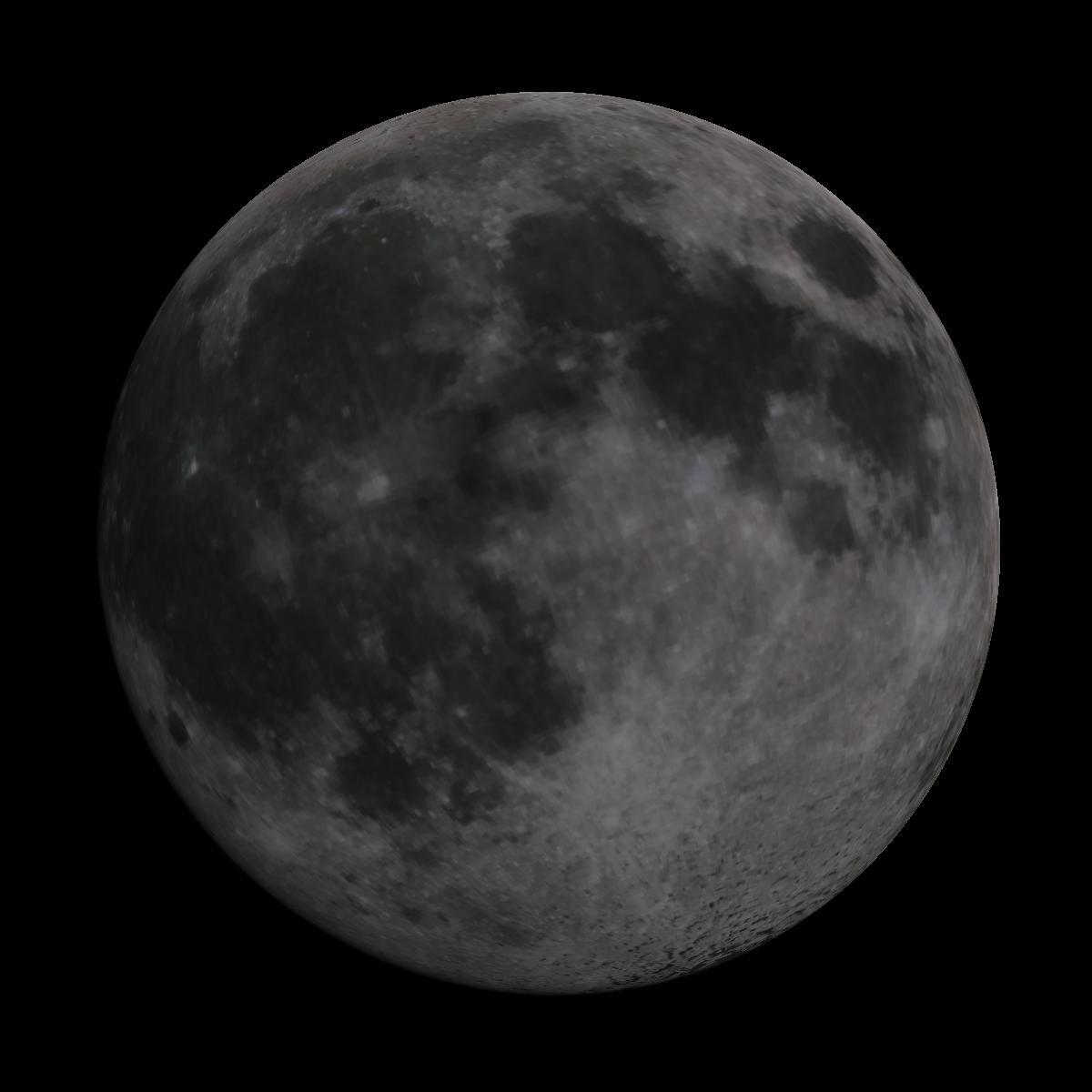 Lune du 9 mars 2020