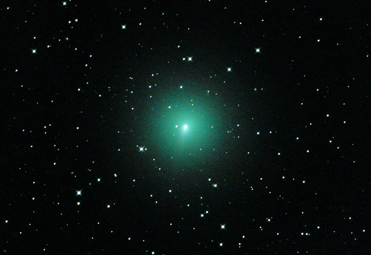 La comète C/2019 Y4 ATLAS photographiée le 14 mars 2020