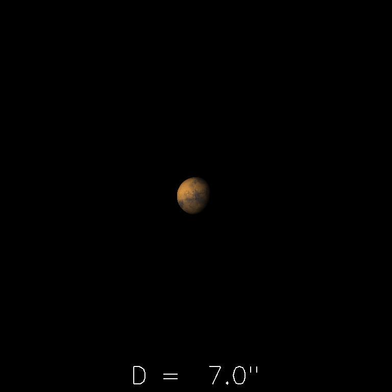 Mars le 16 avril 2020