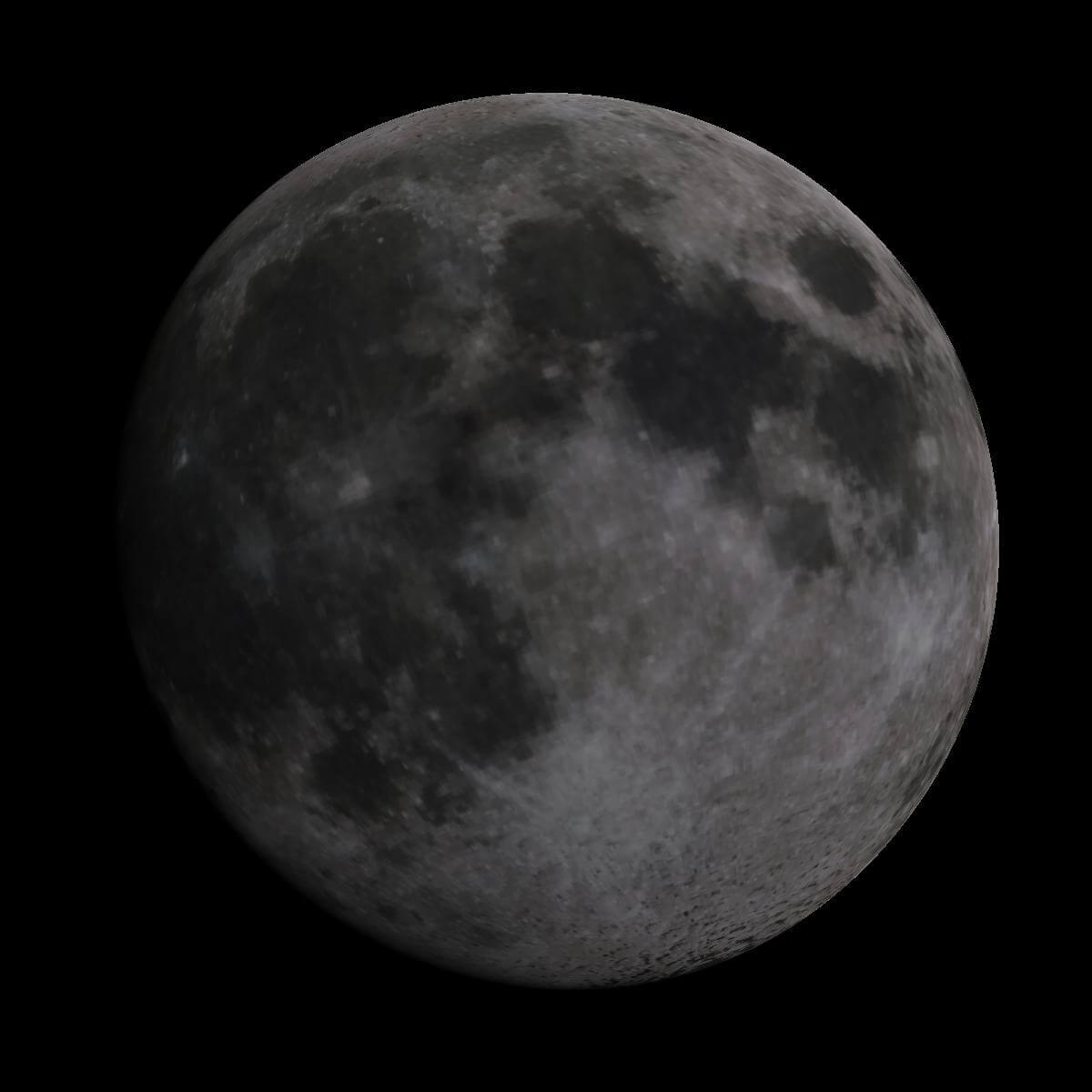 Lune du 6 mai 2020