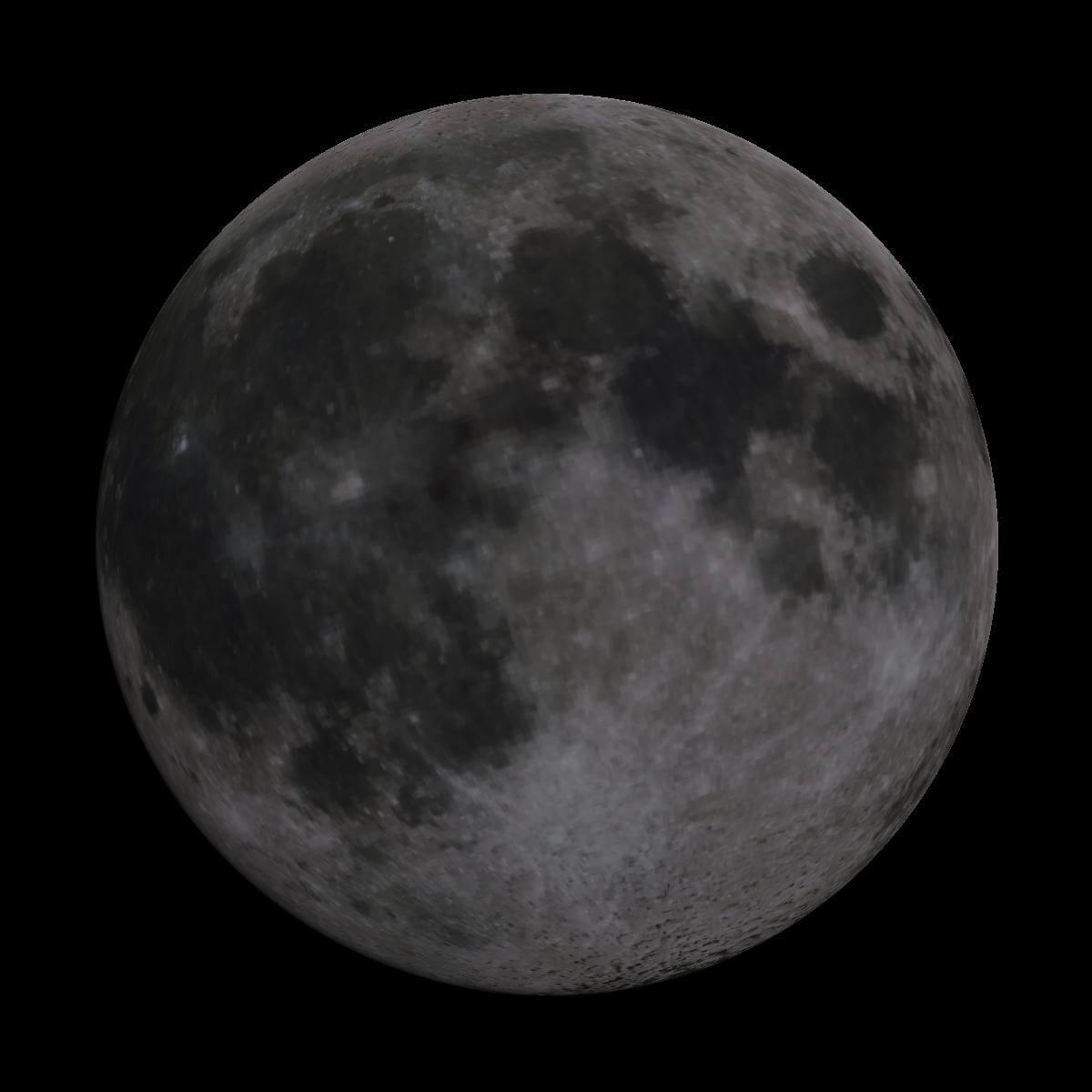 Lune du 7 mai 2020
