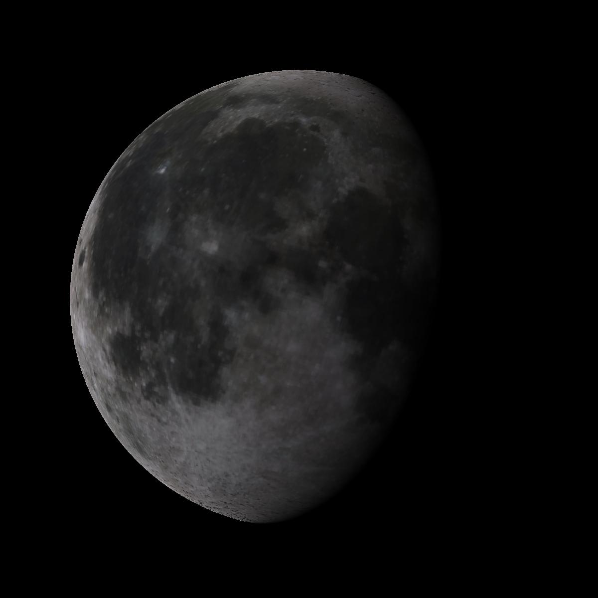 Lune du 10 juin 2020