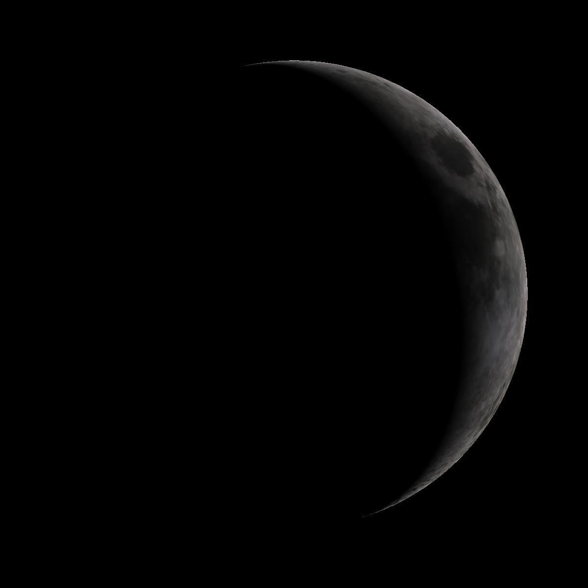 Lune du 25 juin 2020