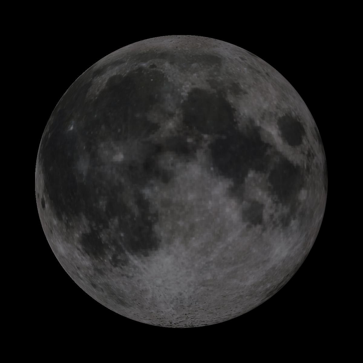 Lune du 6 juin 2020