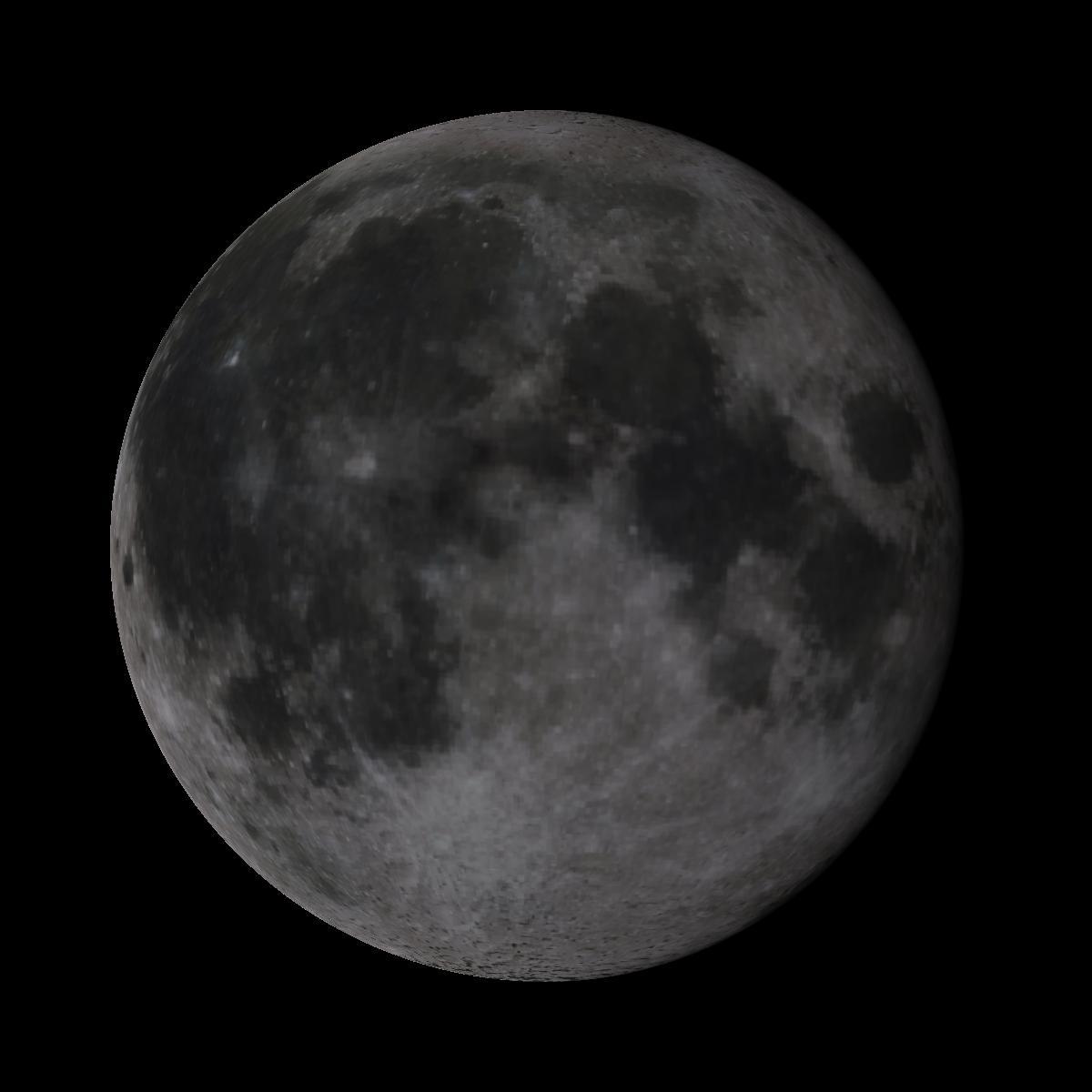 Lune du 7 juin 2020