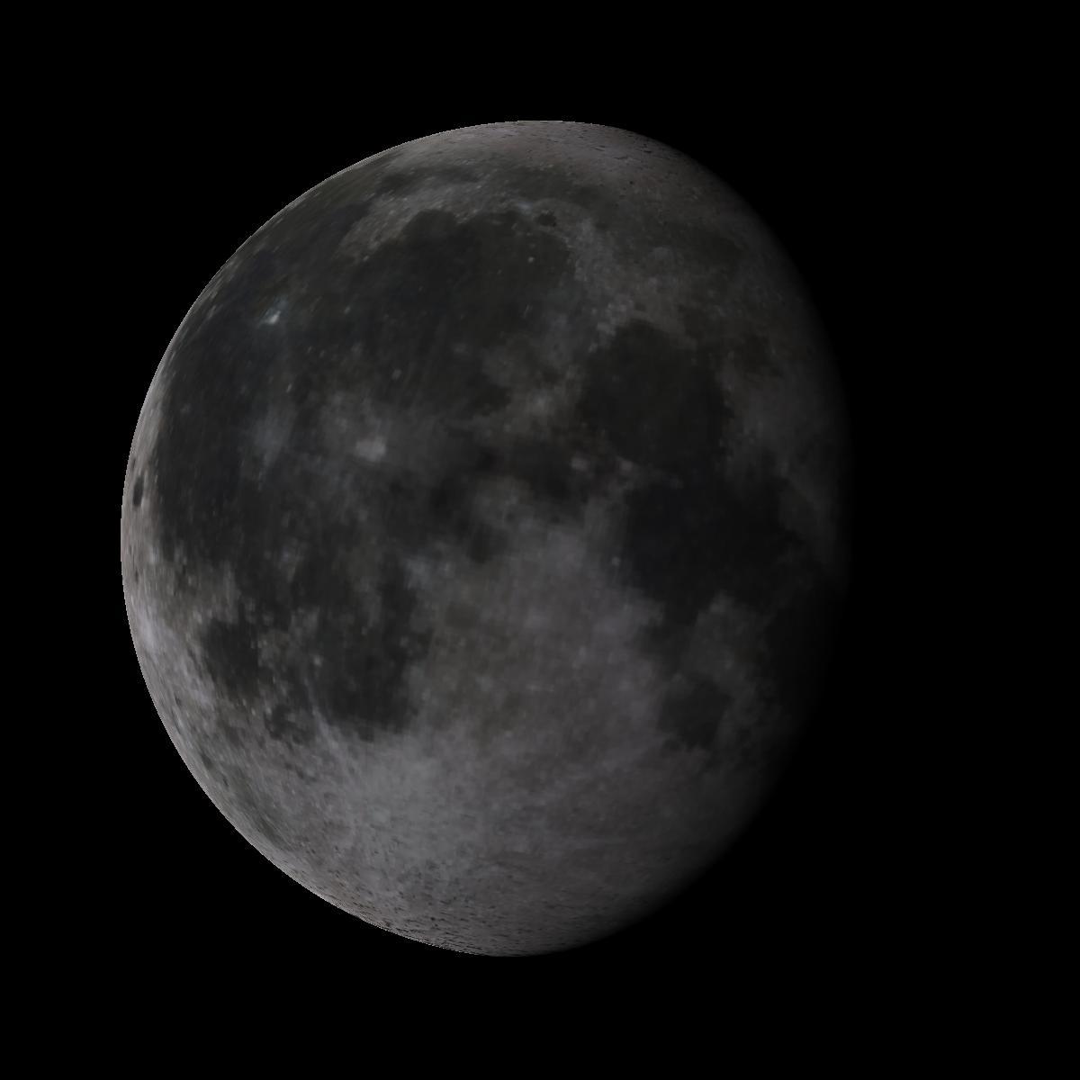 Lune du 9 juin 2020