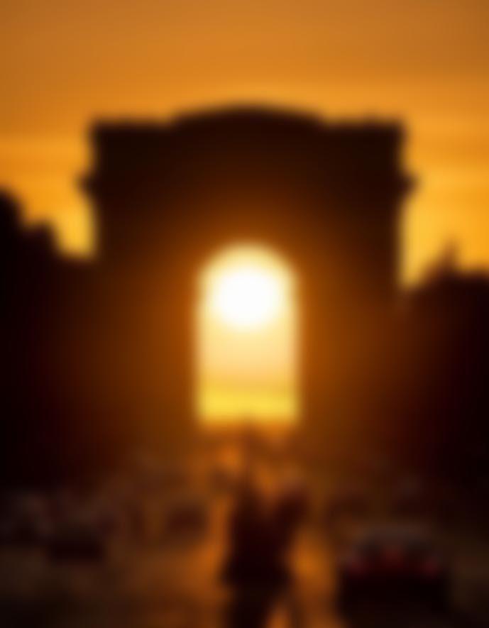 Le Soleil confiné sous l'arche