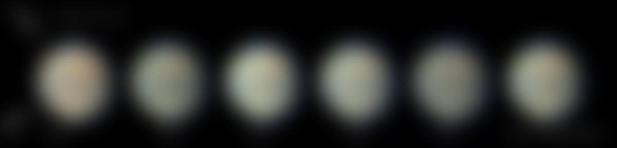 Images de Mars faites le 17 septembre 2019 sur le C14 de la coupole ouest des Makes