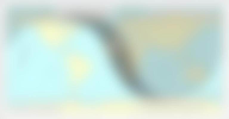Zone de visibilité sur Terre à l'instant du minimum d'élongation