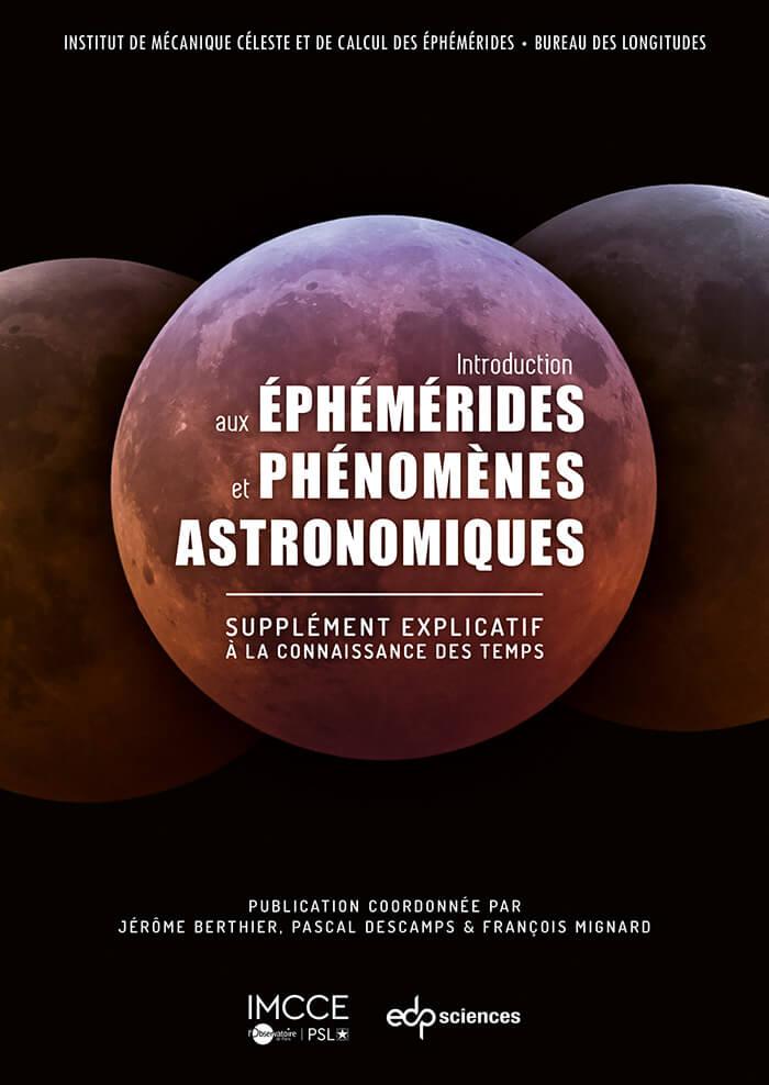 Première de couverture de l'Introduction aux éphémérides et phénomènes astronomiques