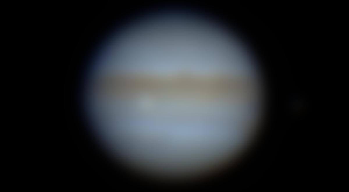 L'impact sur Jupiter du lundi 13septembre 2021 à 22h 39min 30s TU